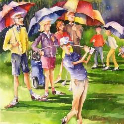 Golfers | Price: $450 | 19x27