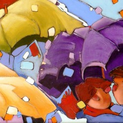 Under my Umbrella | Price: $3600 | 24x48